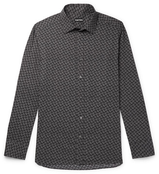 Tom Ford Paisley-Print Cotton And Lyocell-Blend Shirt