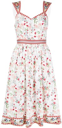 Alice + Olivia Portia Sweatheart mini dress