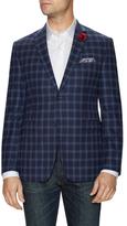 Original Penguin Checkered Notch Lapel Sportcoat