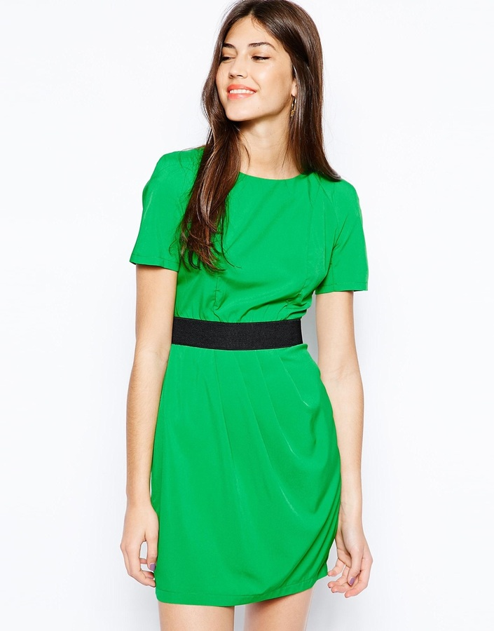 AX Paris 2 in 1 Dress with Band Belt