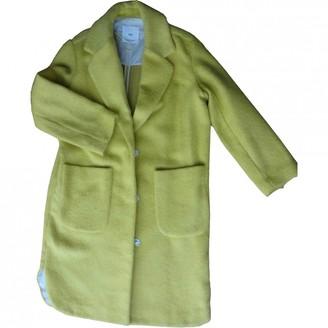MANGO \N Yellow Coat for Women
