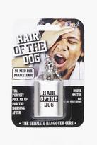 Boohoo Hair Of The Dog Hip Flask Keychain