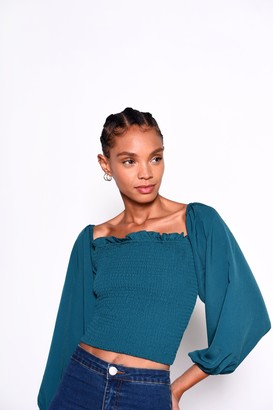 Glamorous Womens **Green Blouse By Green