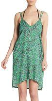Onia Audrey Hi-Lo Dress