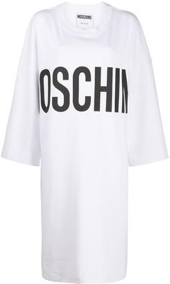 Moschino Oversize Sweatshirt Dress