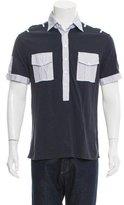 Michael Bastian Short Sleeve Polo Shirt