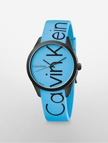 Calvin Klein Logo Blue Watch