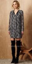 Greylin Long Sleeve Elaine Pin Tucked Shirt Dress