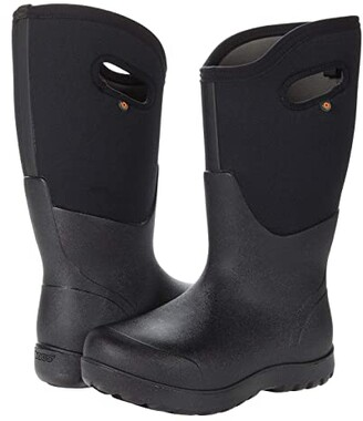 Bogs Neo Classic Wide Calf (Black) Women's Boots