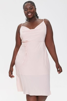 Forever 21 Plus Size Cowl Neck Cami Dress