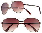 UNIONBAY Women's Colorblock Aviator Sunglasses