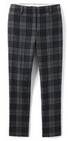 Lands' End Women's Plus Size Mid Rise Slim Leg Pants-French Walnut