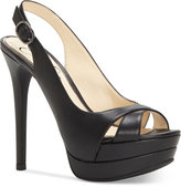 Jessica Simpson Willey Slingback Platform Dress Sandals Women's Shoes