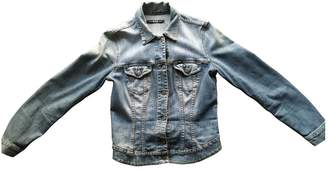 Gas By Marie Turquoise Denim - Jeans Leather jackets