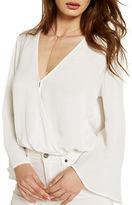 Bardot Ashbury Bell Sleeve Wrap Top