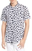 Tommy Jeans Animal Print Camp Shirt