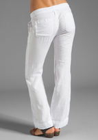 James Perse Tailored Linen Pant