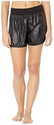 Bloch Rip Stop Shorts (Black) Women's Clothing