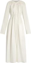 Lemaire Gathered cotton-poplin dress