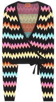 Missoni Activewear Knitted Wrap Top