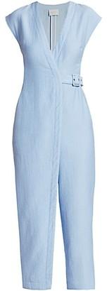 Rachel Comey Steadfast Wrap-Front Jumpsuit