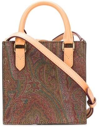 Etro Paisley mini satchel