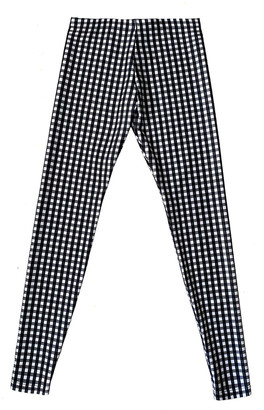 Terez Girl's Gingham Printed Leggings, Size 7-16