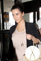 Belle Noel by Kim Kardashian Wishbone Long Necklace in Yellow Gold