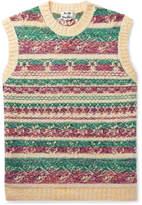 Acne Studios Slim-Fit Fair Isle Jacquard Sweater Vest