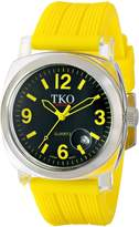 TKO ORLOGI Women's TK549-YY Unisex Milano Remixed Yellow Watch