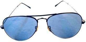 Non Signé / Unsigned Non Signe / Unsigned Blue Metal Sunglasses