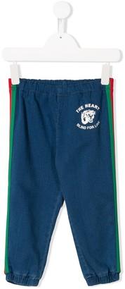 Gucci Kids Web Detail Jeans