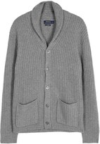 Polo Ralph Lauren Grey Chunky-knit Cashmere Cardigan