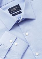 F&F Textured Easy Iron Slim Fit Shirt, Men's