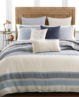 Hotel Collection Linen Stripe King Duvet Cover, Created for Macy's Bedding
