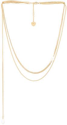 Bracha Ivy Layered Pearl Necklace