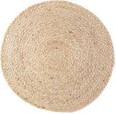 Asstd National Brand Natural Jute Set of 4 Round Woven Placemats