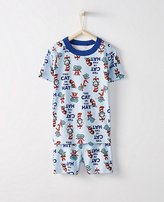 Dr. Seuss Kids Short John Pajamas In Organic Cotton