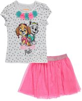 "Paw Patrol Little Girls' Toddler ""Best Pup Pals"" 2-Piece Outfit"