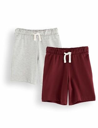 Amazon Brand - RED WAGON Boy's Cotton Jogger Short
