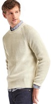 Gap Ribbed crew sweater
