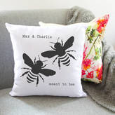 So Close Meant To Bee Personalised Couples Cushion