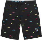 "Maui & Sons Straight Shark 19"" Boardshorts"