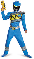 Disguise Blue Ranger Dino Charge Classic Muscle Dress-Up Set - Kids
