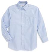 Nordstrom Railroad Stripe Dress Shirt (Little Boys & Big Boys)