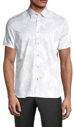 Ted Baker Botanical-Print Shirt