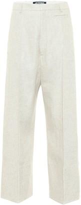Jacquemus Le Pantalon Santon linen-blend pants