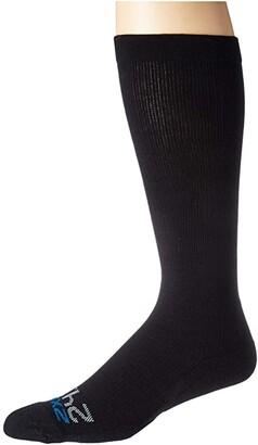 2XU 24/7 Compression Socks (Black/Black) Knee High Socks Shoes