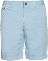 Incotex Slim-leg cotton-blend twill chino shorts