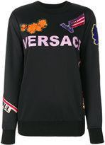 Versace florage manifesto sweatshirt